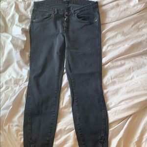 Zara black jean with zipper